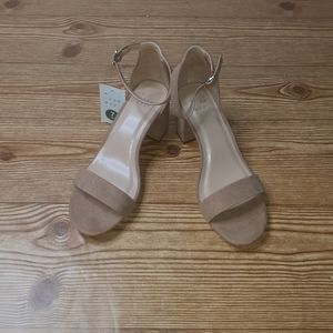 A New Day Chunky  Heels size 7W